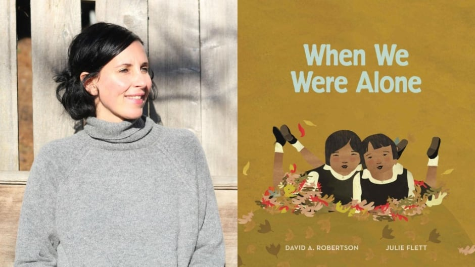 Julie Flett is the illustrator of When We Were Alone which won a Governor General's Literary Award.