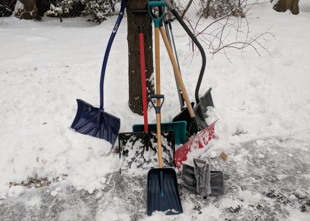 Snow shovels. The Pittis family collection