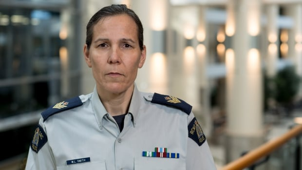 Sgt. Wendy Smith leads the RCMP's sexual assault review team, which has already expanded from four to 17 members, not including a few other Mounties volunteering to put in some overtime re-examining old cases.