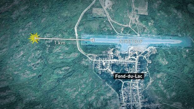 Fond-du-Lac map plane crash