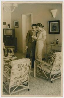 Gabriel García Márquez with Emma Castro