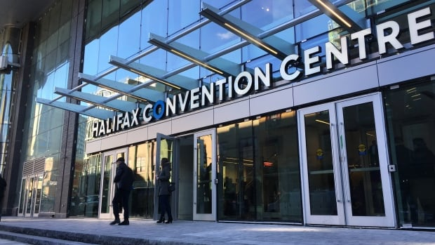 Halifax's new convention centre officially opened its doors on Friday.