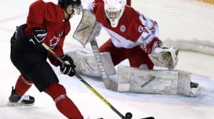 Canadian juniors fill net vs. Denmark ahead of final cuts