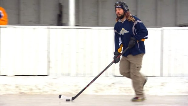 Spongee hockey provides cheaper, more accessible version of hockey