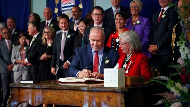 Halfway through term, B.C. NDP three-quarters of the way through election promises