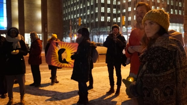 Delilah Saunders Ottawa vigil Dec. 15, 2017