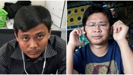 Reuters journalists arrested in Myanmar