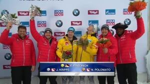 Canadian men snag 2 medals at bobsleigh World Cup
