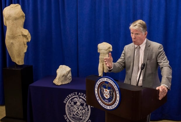 Manhattan DA Looted Antiquities