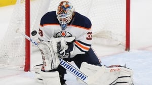 Oilers hold off Wild in Cam Talbot's return