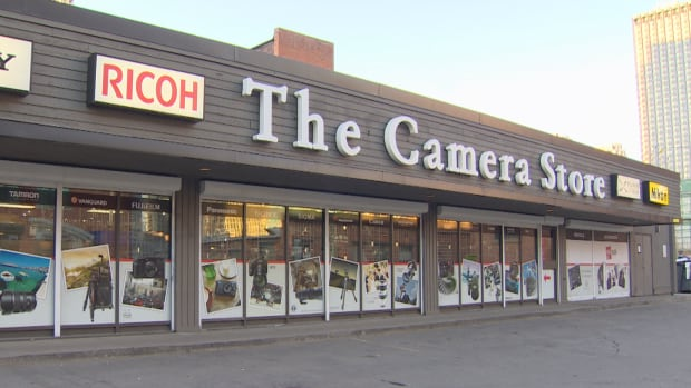 Two cameras and three lenses, worth a total of $35,000, have been stolen from The Camera Store in Calgary.