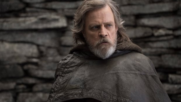 Mark Hamill stars as Luke Skywalker in Star Wars: The Last Jedi, which soared past the $200 million US mark at the North American box office over the weekend.