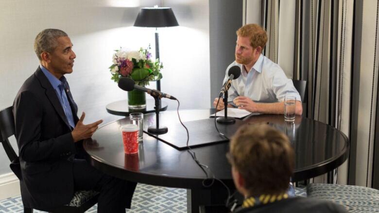 Prince Harry Barack Obama interview