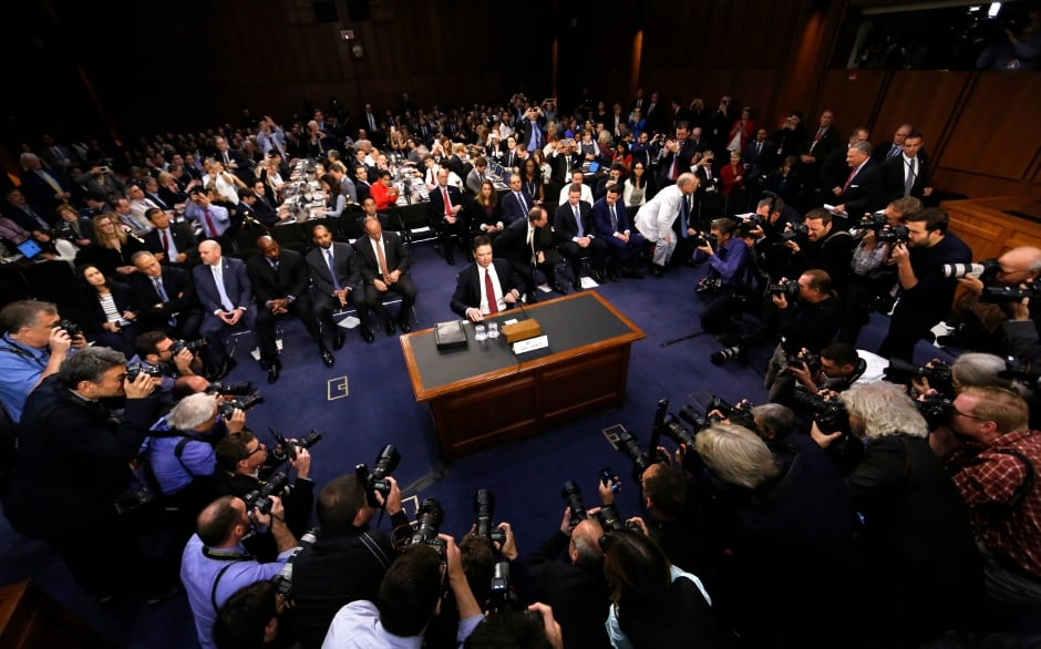 James Comey testifies before Senate Intelligence Committee