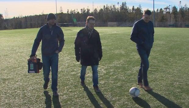 Fraser Allen, Marc Butler and Brad Thompson