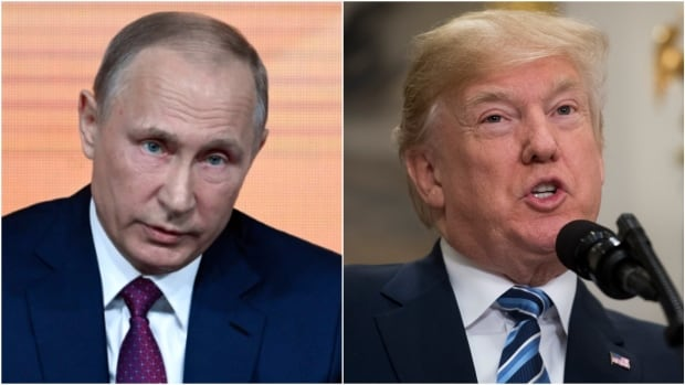 Russian President Vladimir Putin called U.S. President Donald Trump Sunday to thank him for a CIA tip that helped thwart a series of bombings in St. Petersburg, the Kremlin said.
