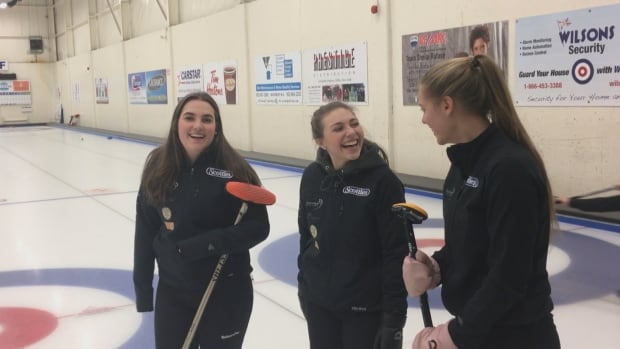 Elsa Nauss, Kate Callaghan and Makayla Harnish are part of the youngest team to qualify for the provincial 2018 Scotties Tournament of Hearts.