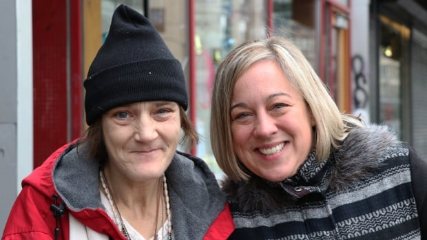 Cindy Cadwell, left, and Kristi Blakeway met five years ago on Vancouver's Downtown Eastside.