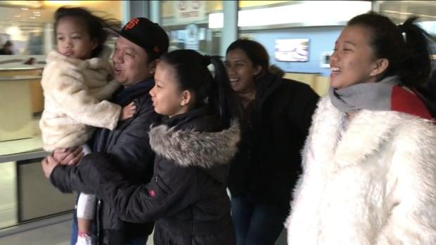 Filipino family reunion