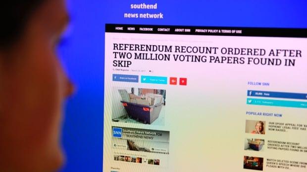 Satirical fake news story