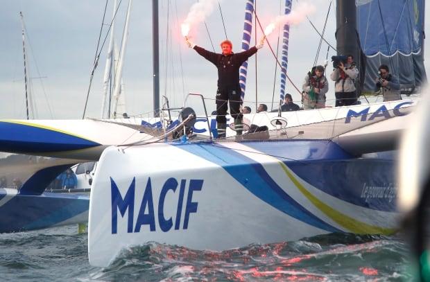 France Solo Sailing Record