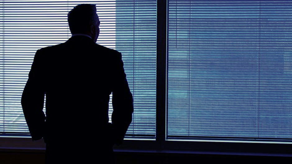 Sexual harassment isn't a problem in the workplace, according to 153 Canadian executives surveyed. Ninety-five per cent interviewed were male.