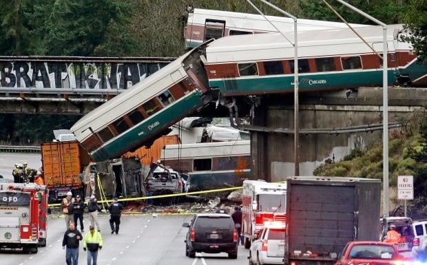 APTOPIX Train Derailment Washington State