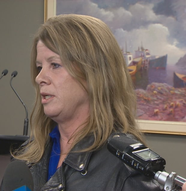 Kathy Symington said she faced sexist harassment from male firefighters through her 17 years as a fi