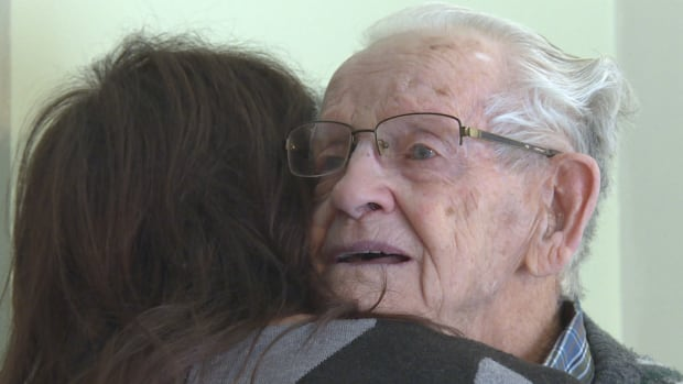 Elderly couple forced apart just days before Christmas - after 70 years together