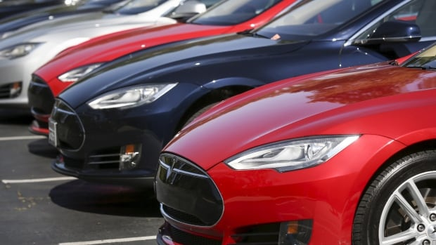 The Tesla Model S was one of the first electric vehicles on the market, but newer, cheaper models are on the way, which advocates hope will stimulate more Canadians to adopt the technology.