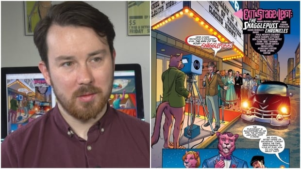 Mike Feehan, originally from St. John's, is the penciler for the new Snagglepuss comic being released in January by DC Comics.