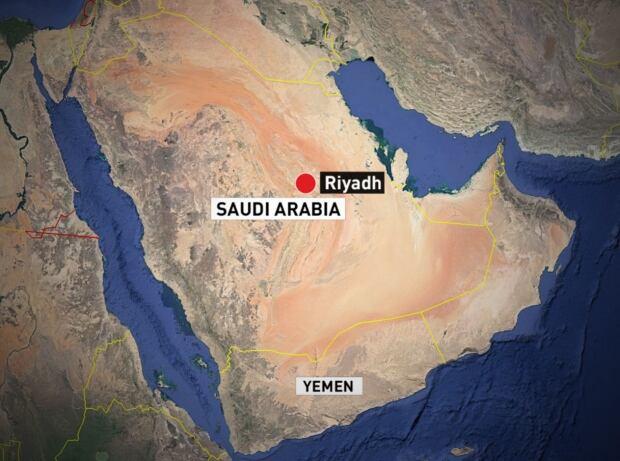 Saudi Yemen map