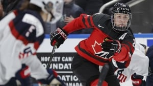 'That was some impressive hockey': VPD cheers for colleague Meghan Agosta after gold medal game