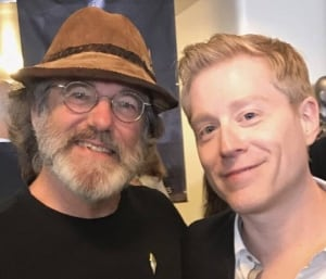 Paul Stamets and Anthony Rapp