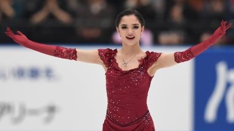 Evgenia Medvedeva Russian Championships Injury