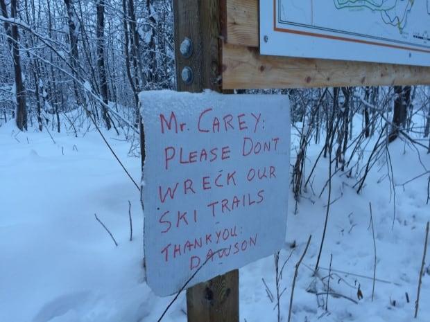 Dawson City ski trails
