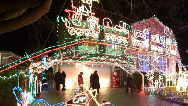 Doug Musson died when he fell from a ladder while tending to his famous light display in Burlington, Ont.