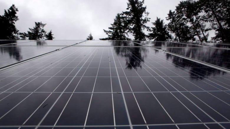 Renewable energy growing in Canada but solar installations
