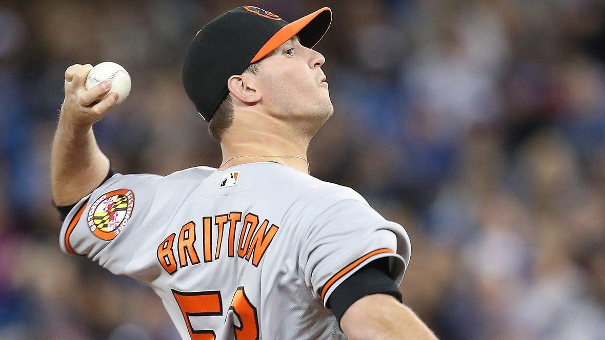 Orioles pitcher Zach Britton suffers Achilles injury
