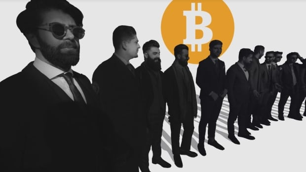 The cryptocurrency landscape is predominantly male. Some experts say that if women are staying away, it's probably too risky.