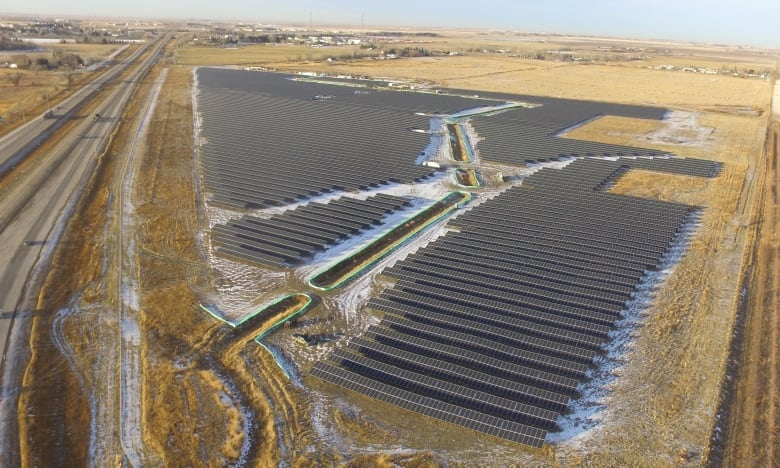 Alberta renewable revolution begins with launch of largest solar project in Western Canada