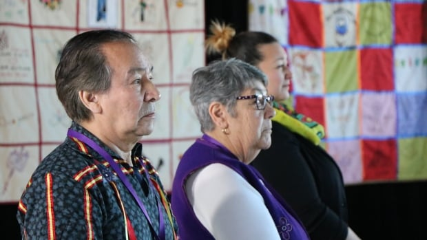 Innu elders Louis-Georges Fontaine and Jeannette Vollant made sure the hearings reflected the spirituality and sense of humour of the Innu people.