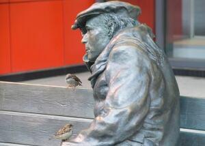 Glenn Gould bench