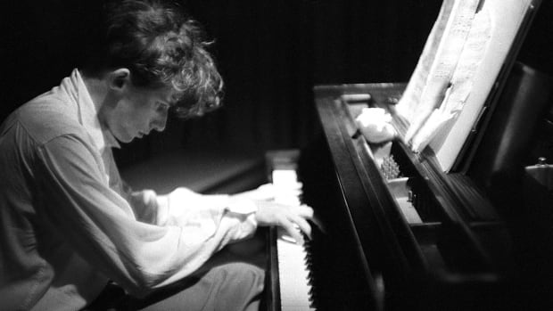 Glenn Gould and piano