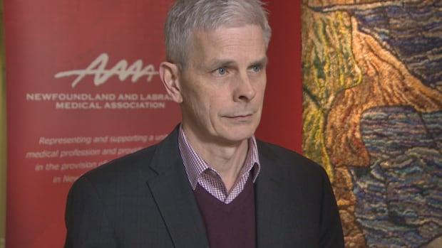 Robert Thompson, the executive director of the Newfoundland and Labrador Medical Association.