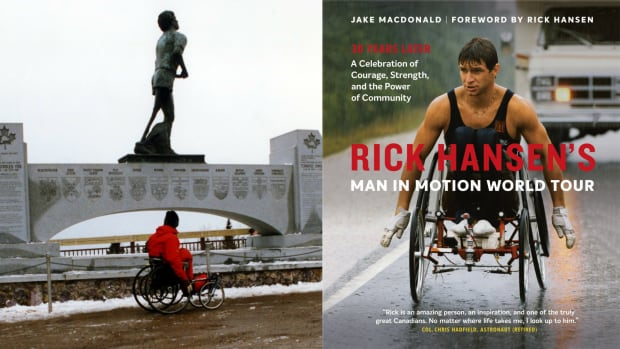 Rick Hansen's Man In Motion World Tour by Jake MacDonald