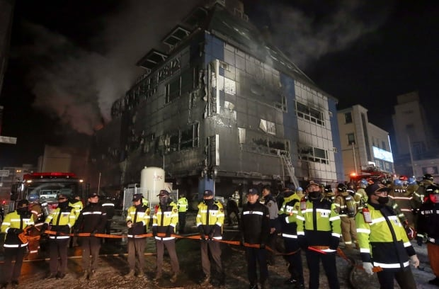 Death toll rises to 29 in S. Korean building fire, 26 injured