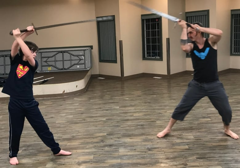 Learn to fight with swords and daggers in Kamloops, B C