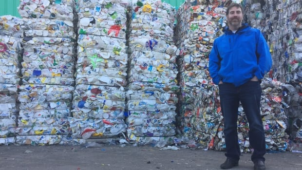 Halifax's solid waste manager, Matt Keliher, said the material could be shipped even further west than Ontario.