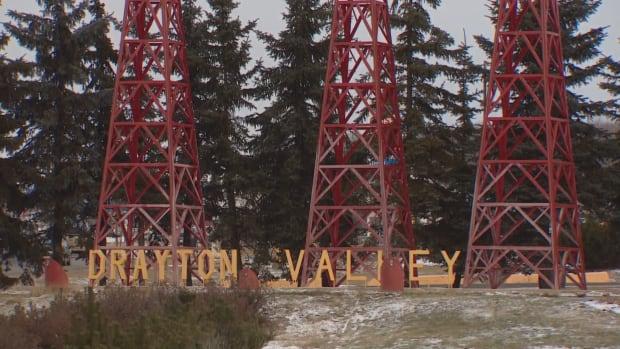 Drayton Valley sign